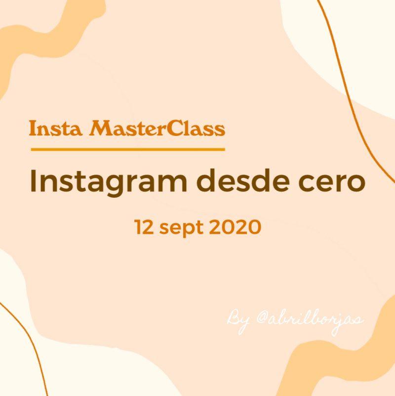Instagram desde cero